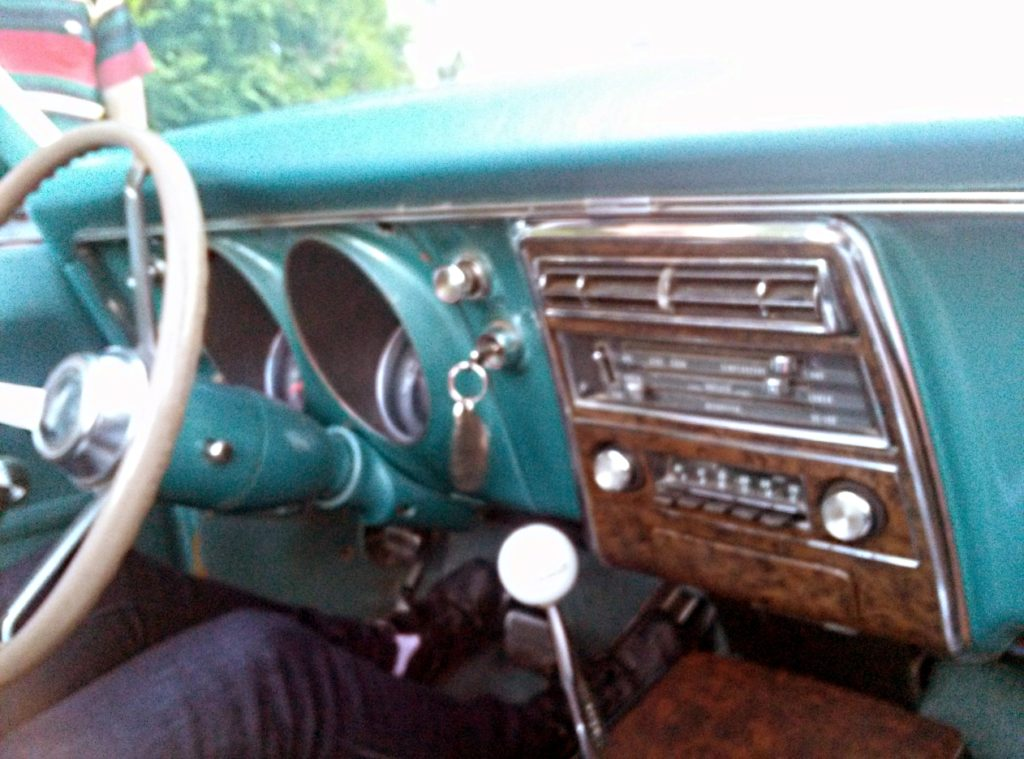 interior pontiac firebird