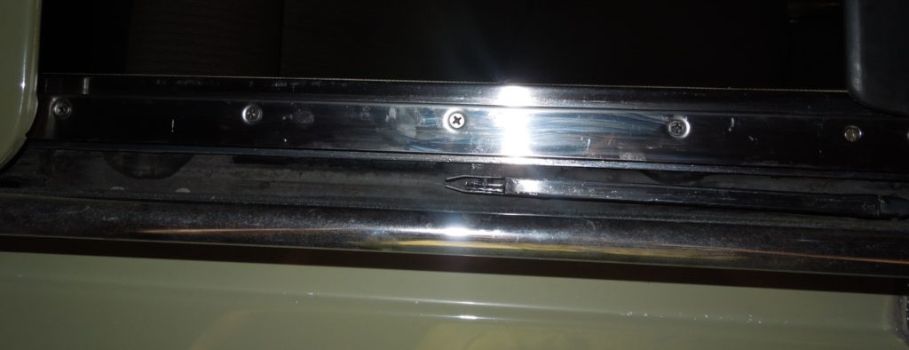 sunroof side plates w123
