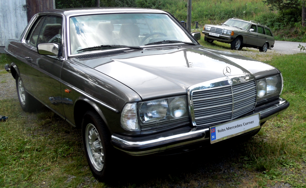 Mercedes 280Ce and 300TD