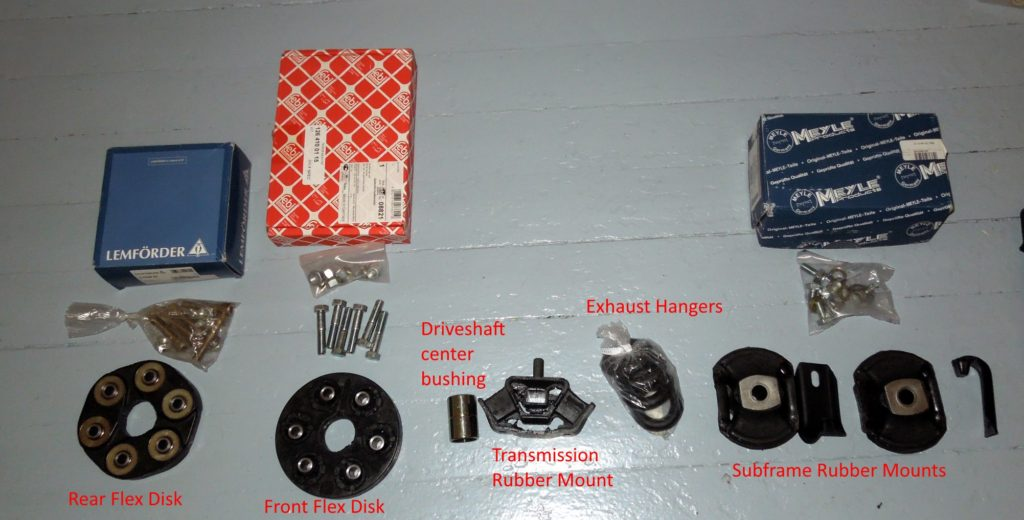 suspension and drivetrain parts