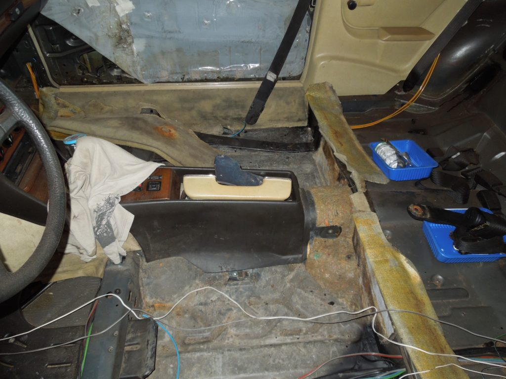 stripped interior 280CE