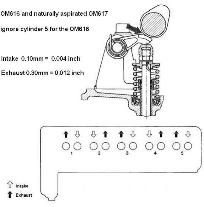 how to adjust the valves on a diesel 617