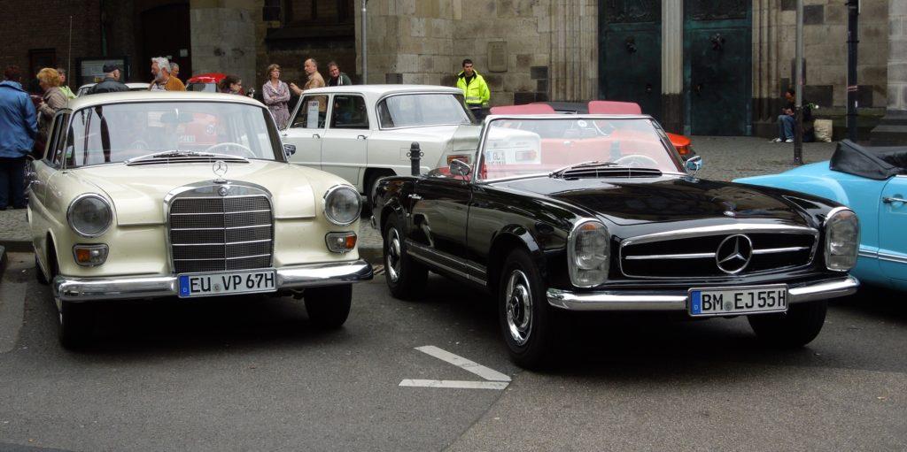 Mercedes benz pagoda