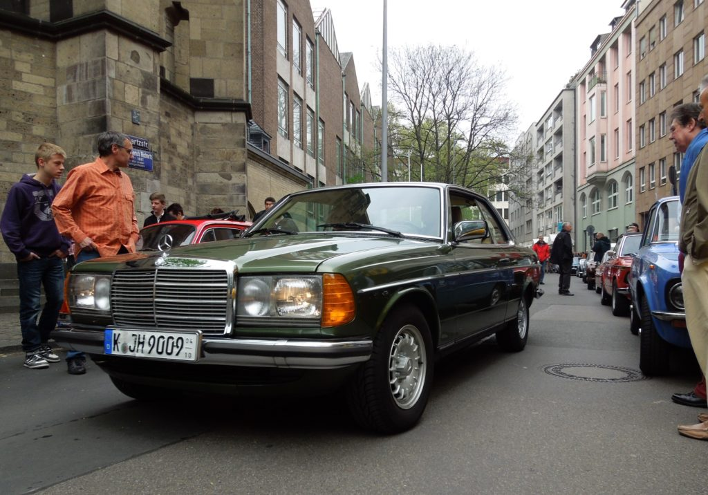 Mercedes w123 coupe
