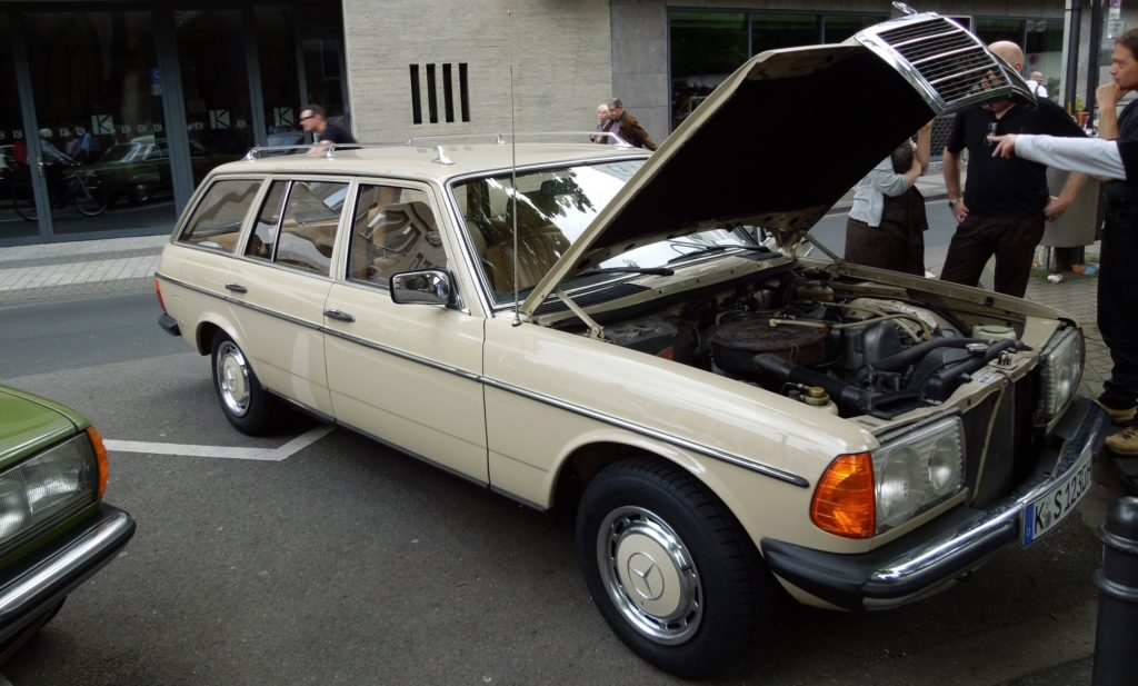 Mercedes w123 Wagon
