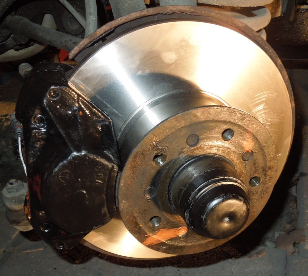 front rotor w123