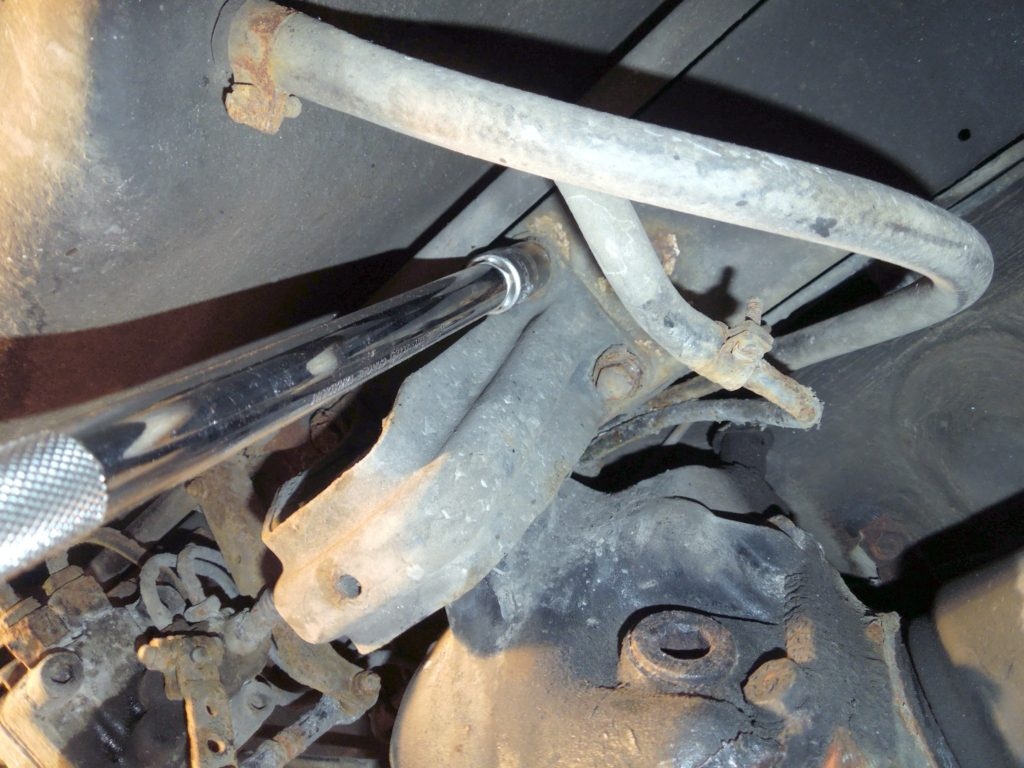 differential mount w123