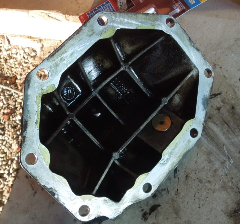 differential housing cover w123