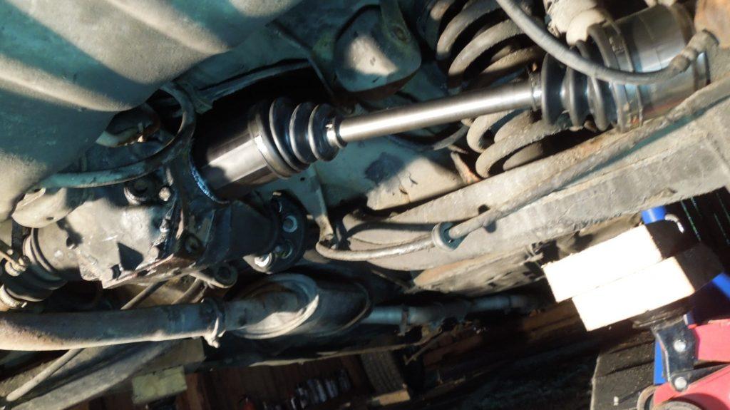 rear axle w123