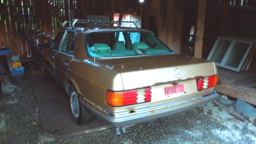 rusty 280SE