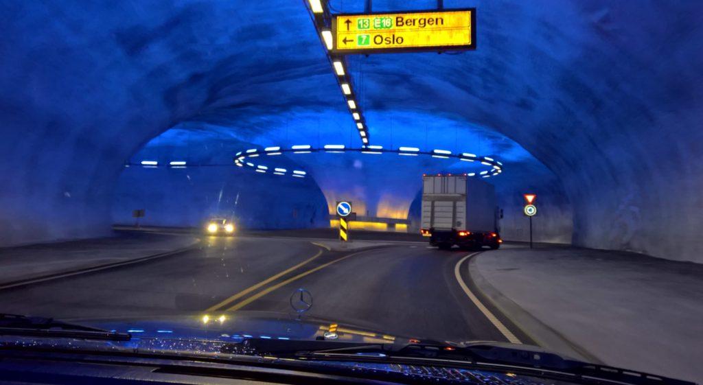 hardanger fjord tunnel