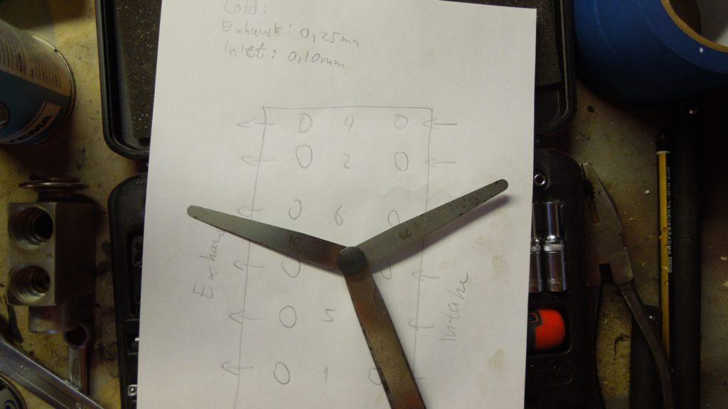 Valve gauge feeler tool