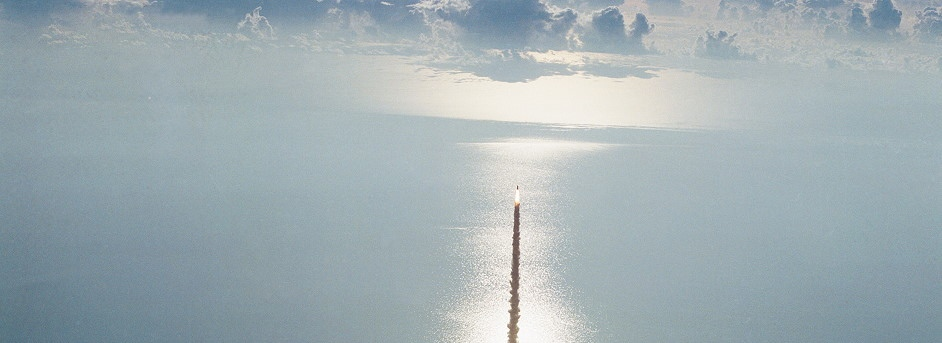 Space launch STS-41