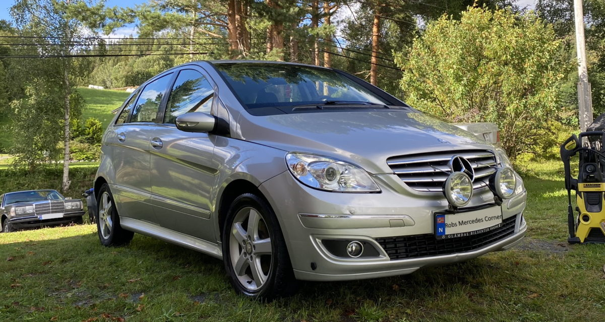 New daily driver – 2008 Mercedes B-Class 180CDI W245