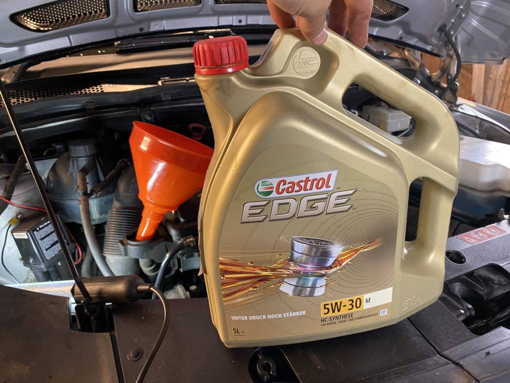 New engine oil for 180CDI